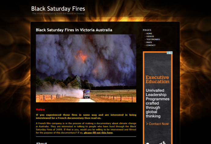 blacksaturdayfires.com